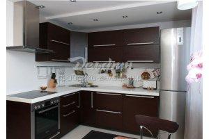 Стильная кухня цвет венге - Мебельная фабрика «Дельфин»
