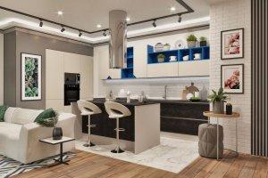 Стильная кухня Манхэттен - Мебельная фабрика «Слон»