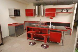 Стильная кухня с островом - Мебельная фабрика «Mirati»