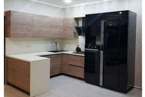 Стильная кухня с полуостровом - Мебельная фабрика «Кухни-АСТ»