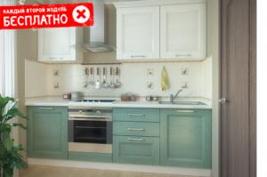 Стильная кухня Сильвер - Изготовление мебели на заказ «Кухни и шкафы М:32»