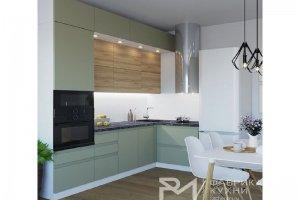 Стильная кухня Виола лайн - Мебельная фабрика «Фабрика кухни РМ»