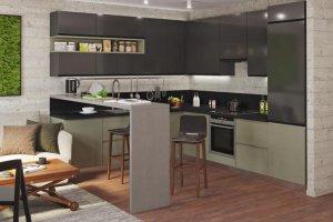 Стильная модель кухни Джелла - Мебельная фабрика «Zetta»