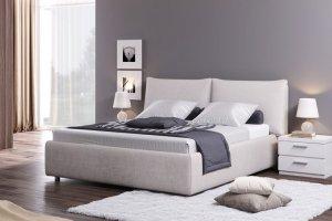Стильная мягкая кровать Браво - Мебельная фабрика «Divanger»