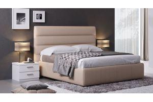 Стильная мягкая кровать Соло - Мебельная фабрика «Divanger»
