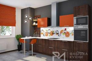 Стильная прямая кухня - Мебельная фабрика «Ревдамебель»