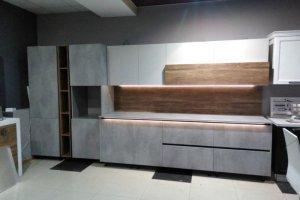 Стильная прямая кухня - Мебельная фабрика «Мебель Хаус»