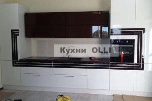 Стильная прямая кухня - Мебельная фабрика «Кухни OLLI»