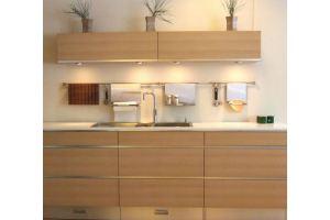 Стильная прямая кухня - Мебельная фабрика «Lakma»