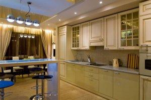 Стильная прямая кухня - Мебельная фабрика «Люкс-С»