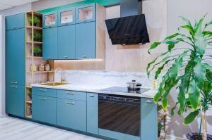 Стильная прямая кухня - Мебельная фабрика «ВерноКухни»