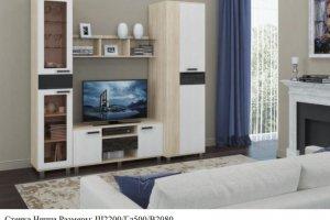 Стильная стенка Ницца - Мебельная фабрика «КБ-Мебель»