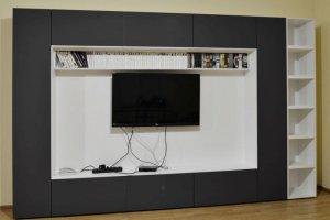 Стильная стенка в гостиную - Мебельная фабрика «Ре-Форма»