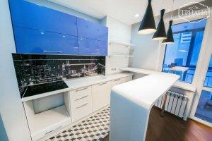 Стильная угловая кухня - Мебельная фабрика «Триана»