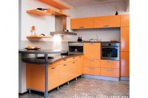Стильная угловая кухня - Мебельная фабрика «Абсолют»