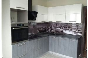 Стильная угловая кухня - Мебельная фабрика «МиАн»