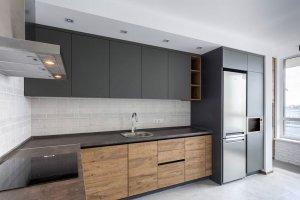 Стильная угловая кухня - Мебельная фабрика «Рось»