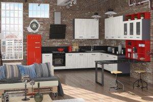 Стильная угловая кухня Грета - Мебельная фабрика «Кухни MIXX»