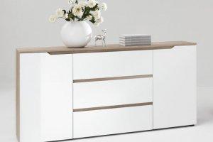 Стильный белый комод - Мебельная фабрика «Абсолют»