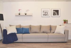 стильный большой диван-кровать Арчи - Мебельная фабрика «Квадратофф»