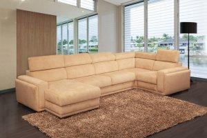 Стильный большой угловой диван LINCOLN  - Мебельная фабрика «Sofmann»