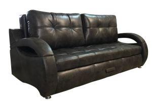 Стильный диван Гермес черный - Мебельная фабрика «А-фортуна»