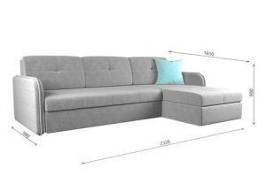 Стильный диван Мадрид хай тек lux cvadro - Мебельная фабрика «ГОСТМебель»