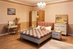 Стильный спальный гарнитур Рита - Мебельная фабрика «Сомово-мебель»