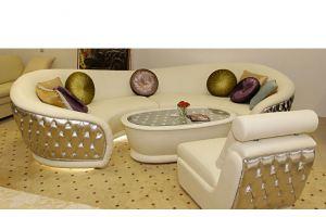 Стильный светлый диван Визион - Мебельная фабрика «Максик»