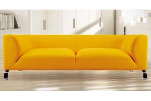 Стильный желтый диван Софи - Мебельная фабрика «SID Диваны»
