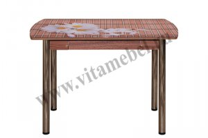 Стол 23 с фотопечатью - Мебельная фабрика «Вита-мебель», г. Кузнецк