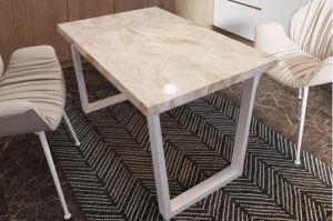 Стол 3-D Бежевый мрамор - Мебельная фабрика «Akrolux»