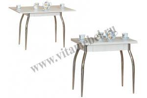 Стол 32 раскладной с ящиком - Мебельная фабрика «Вита-мебель», г. Кузнецк