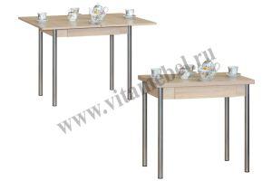Стол 33 раскладной с ящиком - Мебельная фабрика «Вита-мебель», г. Кузнецк