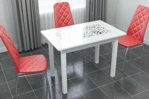 Стол Ажурный стекло - Мебельная фабрика «VALERIA»