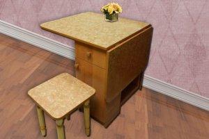 Стол Бабочка Б-2 с ящиком и дверкой - Мебельная фабрика «Наша Мебель»