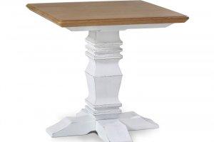 Стол Бахчисарай L с дубовой столешницей - Мебельная фабрика «Леда»
