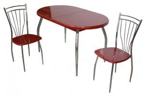 Стол БАКАР Страйп - Импортёр мебели «RedBlack (Малайзия, Турция, Китай)»