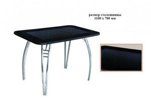 Стол Бесконечность с 3D вставкой - Мебельная фабрика «Надежда»