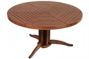 Стол деревянный круглый Артур - Мебельная фабрика «Леда»
