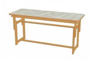 Стол детский регулируемый 1-3 - Мебельная фабрика «Упоровская мебельная фабрика»