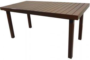 Стол для улицы Ривьера-3 - Мебельная фабрика «Металл конструкция»