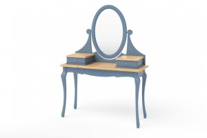 Стол Dreamline туалетный Кассис - Мебельная фабрика «Дримлайн»