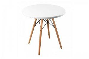 Стол Eames woodR pure white - Мебельная фабрика «R-Home»