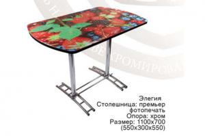 Стол Элегия с фотопечатью - Мебельная фабрика «RiRom»