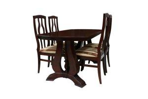 Стол Элит, стул Визит-1 - Мебельная фабрика «Массив»