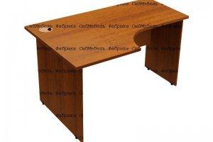 Стол эргоромичный криволинейный - Мебельная фабрика «СибМебель»