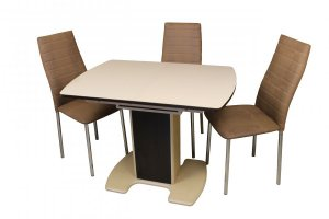 Стол Фабио-2 и стулья Азалия - Мебельная фабрика «Ликсин»