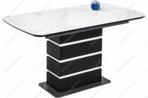 Стол Фернан со стеклянной столешницей - Импортёр мебели «Woodville»