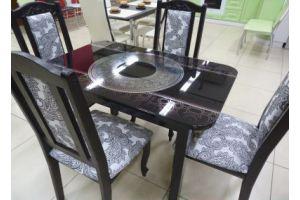 Стол фото-металл каленое стекло - Мебельная фабрика «Мебель России»